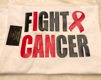 I Can Fight Cancer Motivational Shirts