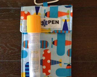 Extra Large Epi-Pen Holder, Epi Pen Case, Allergy bag,