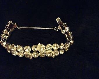 Vintage Eisenberg ice bracelet