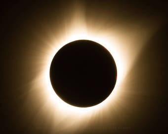 Eclipse Photography, Eclipse Picture, Eclipse Print, Eclipse Art, Eclipse Decor, Total Eclipse Photography, Total Eclipse Picture