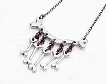 Handmade Bones Necklace