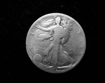1923 S Walking Liberty Silver Half Dollar #1356 US Coin