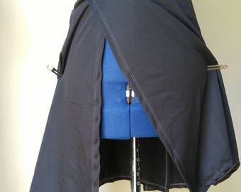 Labor Skirt - Birthing skirt, home births, water births, maternity, pregnancy,