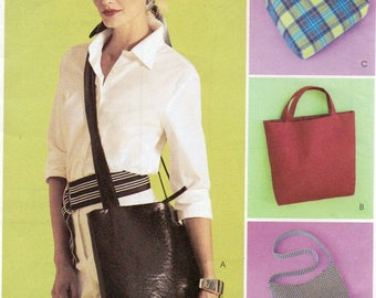 McCall's Fashion Accessories Pattern 3551 LADIES BAGS