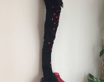 Custom articulating furry dragon tail / dinosaur costume / costume tail / cosplay tail / dragon gift