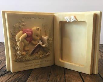 Charpenye Winnie the Pooh and Piglet Frame - Vintage 80s