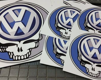 """Volkswagon Steal Your Face Sticker 5"""""""