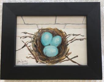 Robin Eggs Acrylic