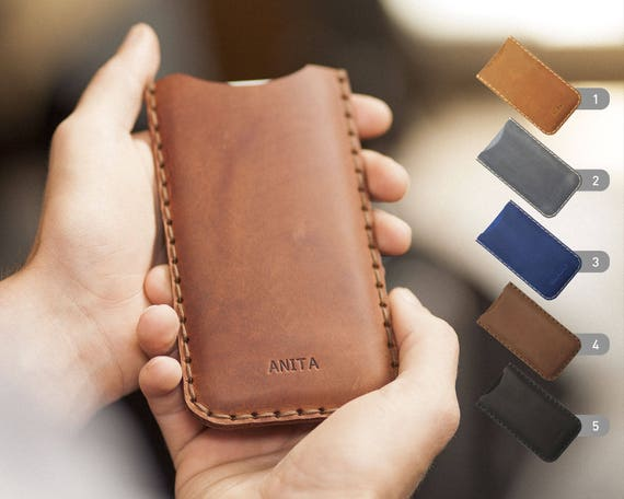 Xiaomi Hongmi Mi Mix 2 Note 3 A1 5X 6 5s 5 4 4s 4c 4i Max Redmi 5 Y1 Plus Lite Note 2 3S Pro Case ENGRAVED Your Name Leather Cover Sleeve