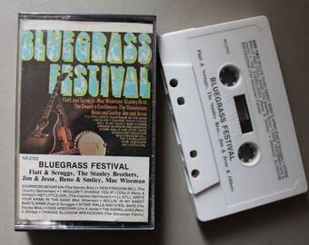 Bluegrass Festival Cassette Tape 1976