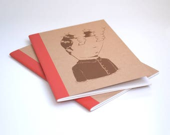 Screen Printed Sketchbook & Notebook