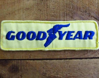 Vintage Good Year Tire Patch - Good Year Advertising Patch