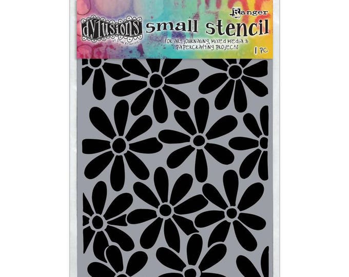 Ranger Dylusions SPRING BLOOM Small 5x8 Stencil by Dyan Reaveley