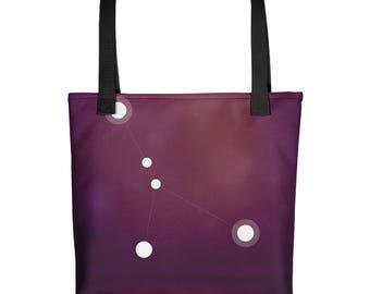 Tote bag - Zodiac Cancer Constellation Tote Bag