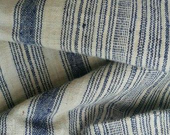 Hand woven Hmong hemp fabric. (H305)