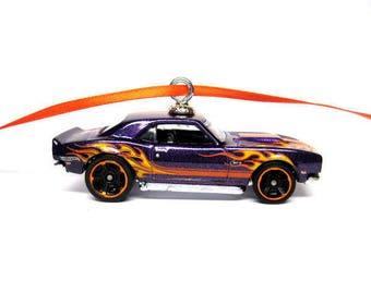1968 Chevy Copo Camaro Muscle Car Hot Wheels Ornament