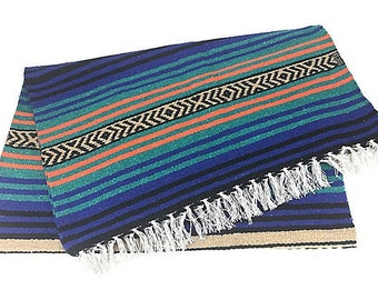 Mexican Fringe Throw Blanket