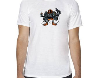 Unisex lets play 2 gaming T Shirt