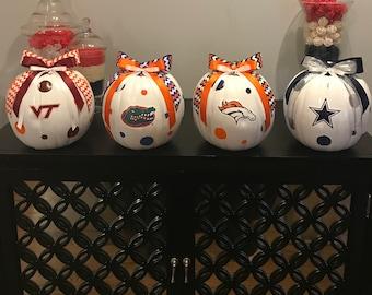 Custom craft pumpkins