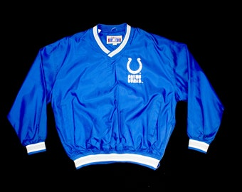 Vintage Starter Marshall Faulk Indianapolis Colts Pullover Jacket