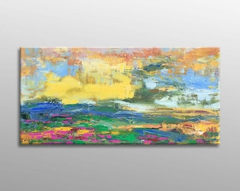 Oil Painting, Landscape Painting, Abstract Canvas Art, Oil Painting Original, Oil Painting Landscape, Large Painting, Autumn Oil Painting