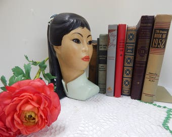 1965 Asian woman / chalk bust