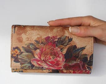 Madamzel Summer Garden Floral Leather
