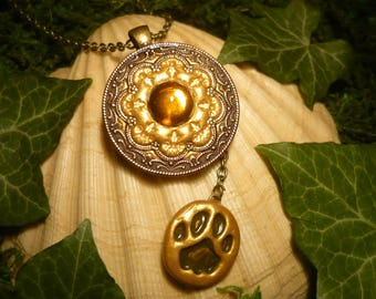 Talisman of the Lion - fantastic handmade Amulet