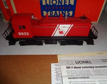 Lionel electric trains,Jersey Central switcher loco ,Nice condition ready to use.1990s