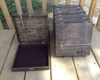 Cool Groomsmen Gift, Groomsman Gift Box, Gifts for Him, Cigar Box, Small Box, Personalized Box, Groomsmen Gift Idea, Groomsman Gift Idea