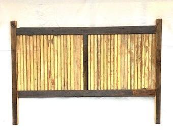 Reclaimed Wood Headboard/ Rustic/ Cottage