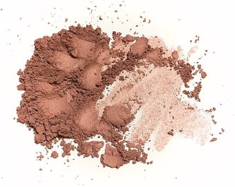 BRONZE BERRY Natural Mineral Face Color - Titanium Free Cheek or Eye Color - Gluten Free Vegan Makeup