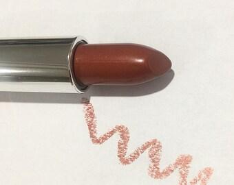 MAPLE SYRUP Natural SATIN Mineral Lipstick - Gluten Free / Vegan Lipstick