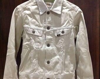 """Vintage Lee westerner union made """"bangkotan"""" trucker jacket size 34"""