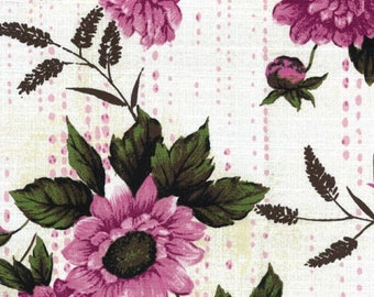 Bindi in Pink (Bark Cloth Fabric) by Gertrude Made from the Outback Wife collection for Ella Blue #TE-6012-P by 1/2 yard