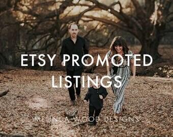 Etsy Promoted Listings | SEO, Etsy Ads, Marketing, Etsy Keywords, How To Use Etsy Promoted Listings, Etsy Advertising, Etsy Sellers