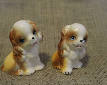 1960's Dog Salt and Pepper Shakers