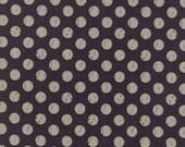 Farmer's Daughter - Shabby Dots Charcoal by Vanessa Goertzen of Lella Boutique for Moda, 1/2 yard, 5055 12