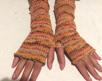 Fingerless gloves 2017 new women gift gloves Mittens Long Arm Warmers Boho Glove Women Fingerless Wrist long arm warmers Ready to ship!