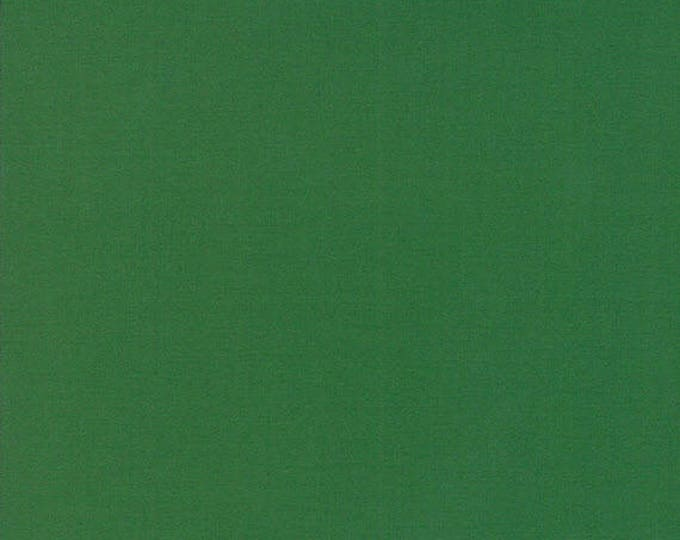 BELLA SOLIDS - Dill Green - Solid Blender Cotton Quilt Fabric - from Moda Fabrics - 9900-77 (W4407)