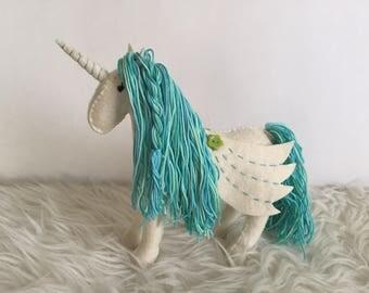 Wool felt Unicorn