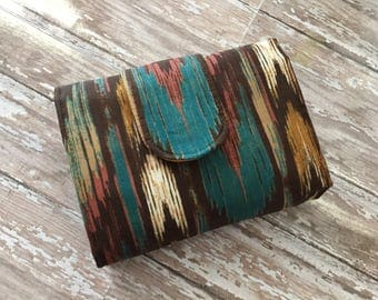 Interchangeable Needle Case - Knitting Clutch Wallet for Interchangeable circular needles organizer made to order