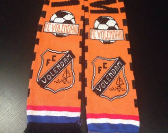 Volendam Football Club Soccer Scarf - Holland Ajax Orange
