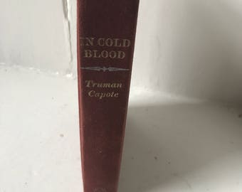 Truman Capote In Cold Blood First edition