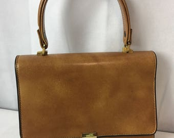 Small Vintage Compartment 60s Bag
