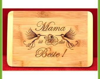 Breakfast Board Mama is the best bamboo