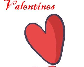 Valentines day svg valentine svg heart svg love svg svg valentines svg svg files svg files for cricut valentines day svg cutting files