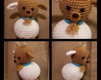 Gulliver the Goat crochet pattern