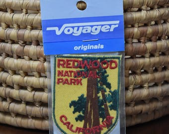 Vintage Redwood National Park Patch