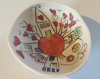 Love town--tiny bowl